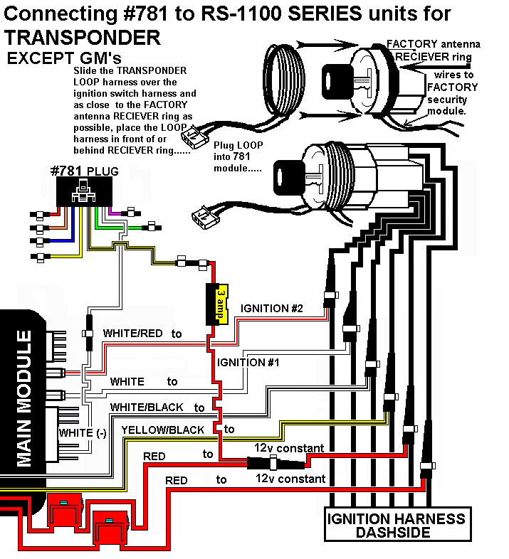 installation diagrams access wiring diagram connecting 781 to remote start with onboard relays for transponder