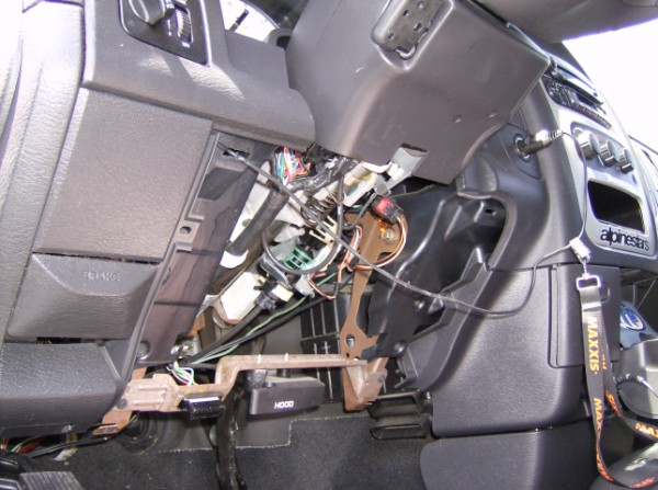 2005 DODGE RAM UNDER DASH PANEL REMOVED (600 x 447) hello i need a stereo wiring diagram for a 2005 dodge ram 1500 Dodge Ram 1500 Light Diagrams at n-0.co