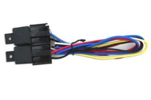 Picture of Two Relays with Pre-Wired Harness