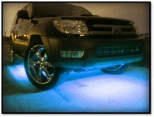 Picture of Ultra Bright LED Underbody Kit-Blue