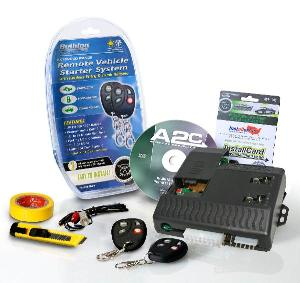 Picture of Model RS1200B Remote Starter with Keyless Entry and Trunk Release