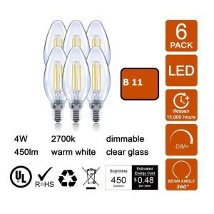 Picture of B11 LED bulbs